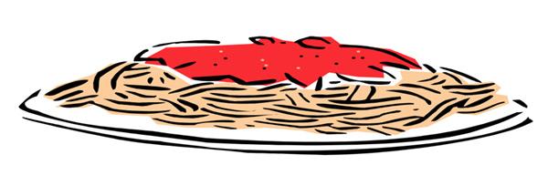 Spagetti Plate