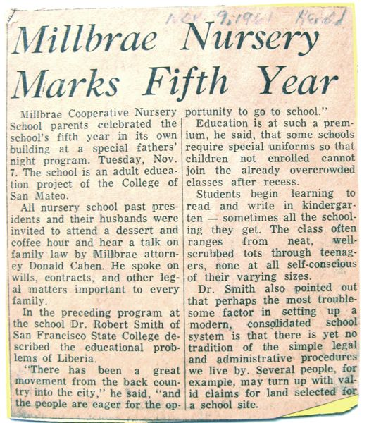 Historical Clipping of the Month – March 2010