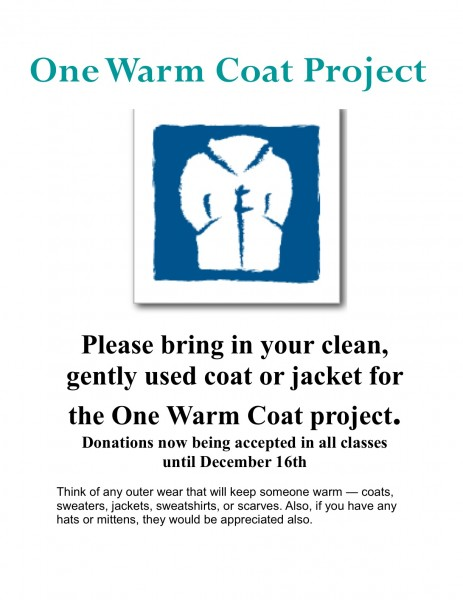 One Warm Coat Project