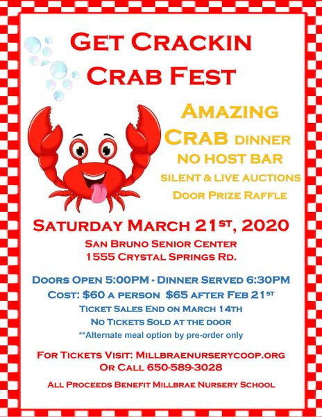 Get Crackin Crab Fest – 3/21/2020